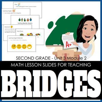2nd Grade Lesson Slides for Bridges Math - Unit 3 Module 2