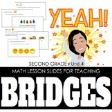2nd Grade Lesson Slides for Bridges Math - Unit 4