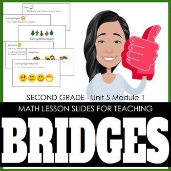 2nd Grade Lesson Slides for Bridges Math - Unit 5 Module 1