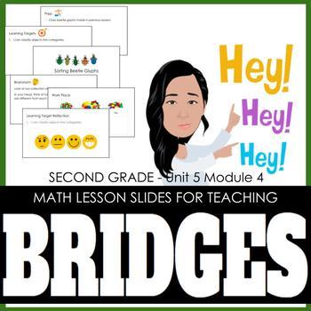 2nd Grade Lesson Slides for Bridges Math - Unit 5 Module 4