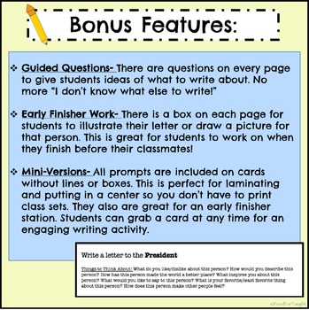2nd Grade Letter Writing Prompts