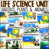 2nd Grade Life Science Habitat Unit
