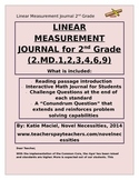 2nd Grade Linear Measurement Interactive Student Journal