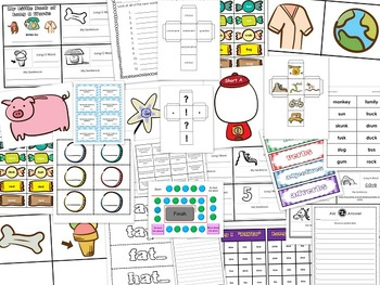 2nd Grade Literacy Centers Activity Pack (October) {Common Core Aligned}