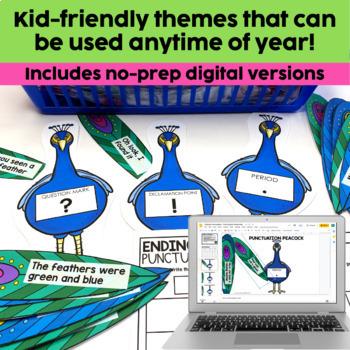 2nd Grade Literacy Centers Bundle | ELA Centers | Word Work Centers