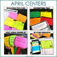 2nd Grade Literacy Centers for April