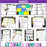 2nd Grade Literacy Centers for March