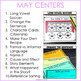 2nd Grade Literacy Centers for May