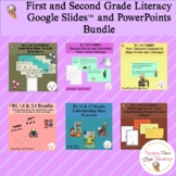 1st and 2nd Grade Literacy Slide Presentations | Distance