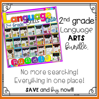 ***Special Sale*** 2nd Grade Language Arts and Grammar
