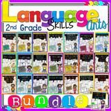 ***SPECIAL SALE***  2nd Grade Language Arts & Grammar Bundle Distance Learning