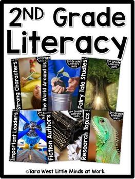 2nd Grade Literacy Units BUNDLED *GROWING BUNDLE*