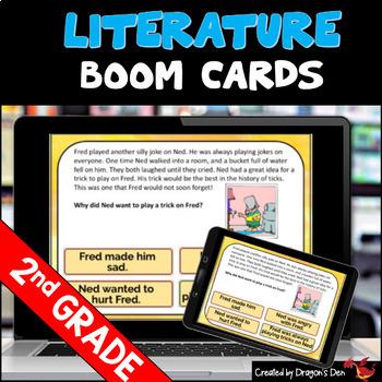 2nd Grade Literature Boom Cards