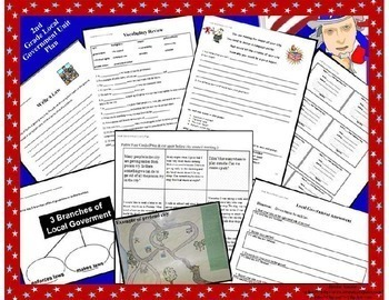 Local government worksheets for 3rd grade