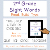 2nd Grade Lucy Calkins Phonics: Snap Words- Read, Build, T