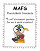 "2nd Grade MAFS Posters - Florida Math Standard ""I can..."" Posters"