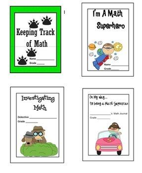 2nd Grade MATH JOURNAL ACTIVITIES