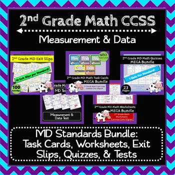2nd Grade MD Math Bundle: 2nd Grade MD Curriculum MEGA Bundle: 2nd Grade Math
