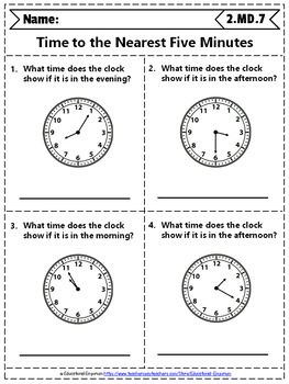 2nd Grade MD Worksheets: 2nd Grade Math Worksheets ...