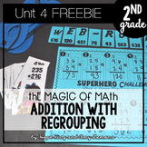 2nd Grade Magic of Math FREEBIE: Addition With Regrouping