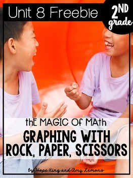 2nd Grade Magic of Math FREEBIE:  Graphing with Rock, Pape
