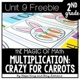 2nd Grade Magic of Math FREEBIE: Multiplication Activity