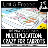 2nd Grade Magic of Math FREEBIE: Multiplication Activity