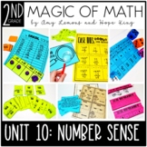2nd Grade Magic of Math Unit 10:  Unknown Numbers and 10 &
