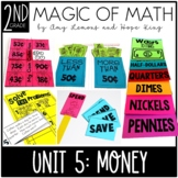 2nd Grade Magic of Math Unit 5:  Counting Money and Person