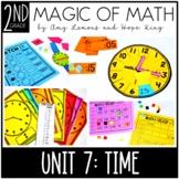 2nd Grade Magic of Math Unit 7:  Time {10 Day Unit}
