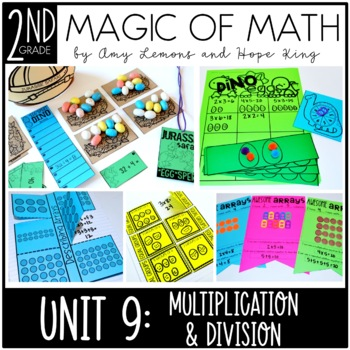 2nd Grade Magic of Math Unit 9:  Multiplication and Division