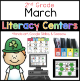 2nd Grade March Literacy Centers