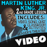 2nd Grade Martin Luther King Jr. Activities & Reading Passages for MLK Day