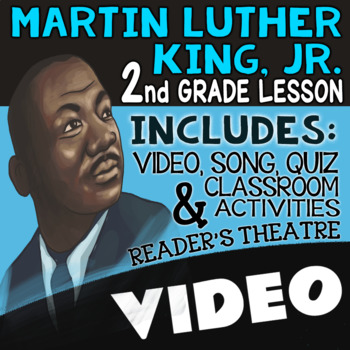 2nd Grade Black History Month Activities: Martin Luther King Jr Reading Passages
