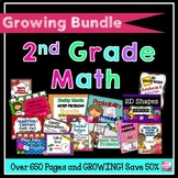 2nd Grade Math Activities Bundle