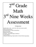 2nd Grade Math 3rd Nine Weeks Assessment