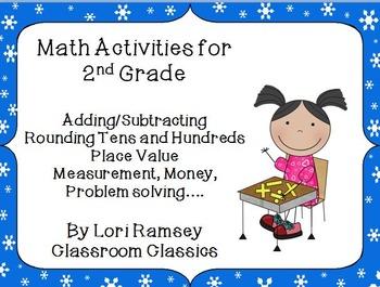 2nd Grade Math Activity Packet