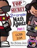 2nd Grade Math Agents - Part 1 CCSS 2.OA