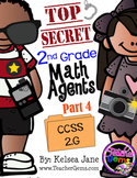 2nd Grade Math Agents - Part 4 CCSS 2.G