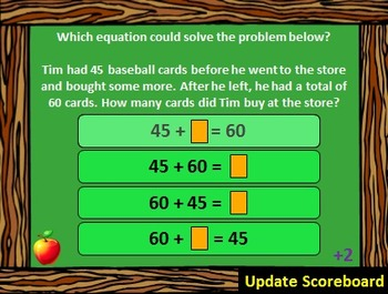 2nd Grade Math - Are You Smarter Than a 2nd Grader? PowerPoint Game