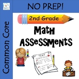 2nd Grade Math Assessments {Common Core Aligned}