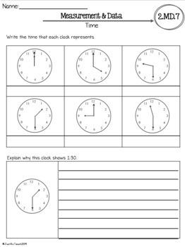 2nd grade math test pdf