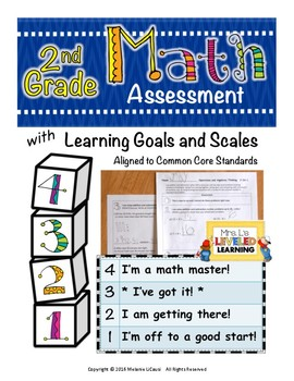 2nd Grade Math Assessment (2.OA.1, 2.G.1-2) with Marzano S