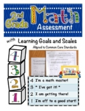 2nd Grade Math Assessment with Marzano Scales Aligned to Common Core