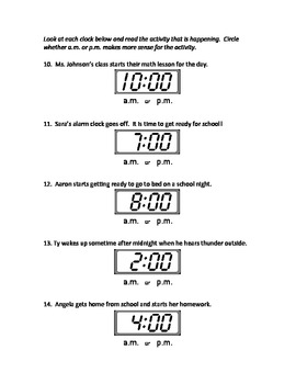 2nd Grade Math Assessment - Time and Money - Common Core Aligned