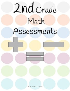 2nd Grade Math Assessments