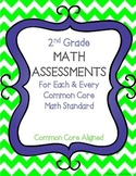 2nd Grade Math Assessments For Each & Every Common Core Ma