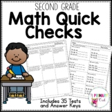 2nd Grade Math Assessments for the Whole Year