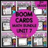 2nd Grade Math BOOM CARDS Digital Task Cards BUNDLE Module 7