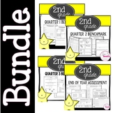 2nd Grade Math Benchmark Bundle